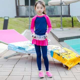 Swimming suit long sleeve and long pant