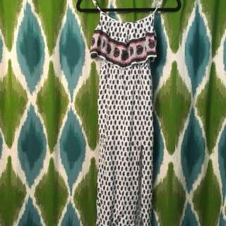 American Eagle patterned maxi dress