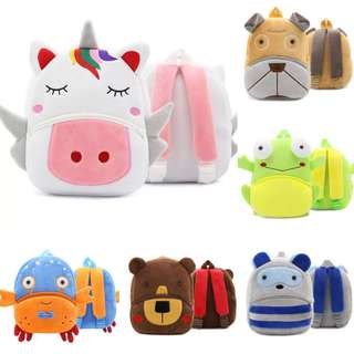 PO Zoo Animals Bag