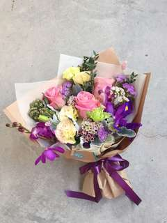Fresh Flower Bouquet - blooms of the week