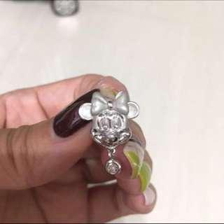 18k 💎鑽石吊咀(可轉胸針)