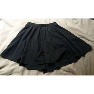 Simple Cotton On Skater Skirt (Size XS)