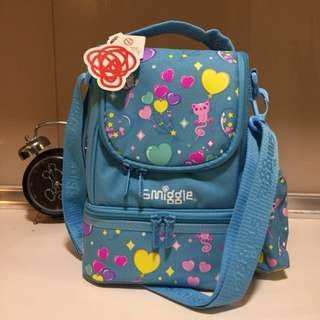 Smiggle Lunch Box w Strap (2 layers)