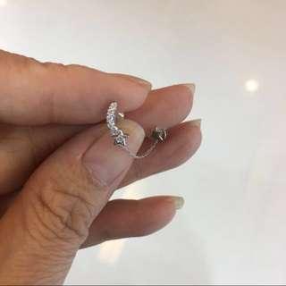 18k 💎鑽石耳環