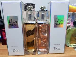 Dior Addict Eau Fraiche and Dior Addict EDT combo (can be sold separately)