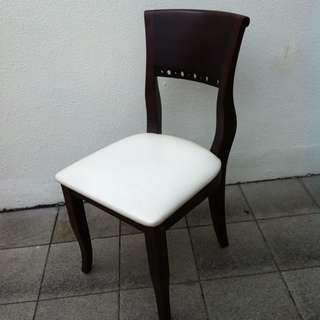 Rosewood chair. In good condition. Dimension 46 x 43cm x 90cm height