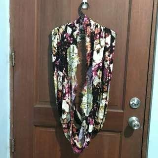 Multi-colored scarf
