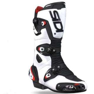 Pre Order SIDI MAG-1 WHITE BLACK BOOTS