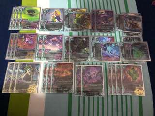 Buddyfight Plague deck