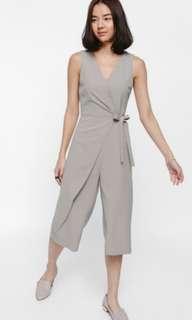 Love Bonito Ferora Foldover Wrap Midi Jumpsuit