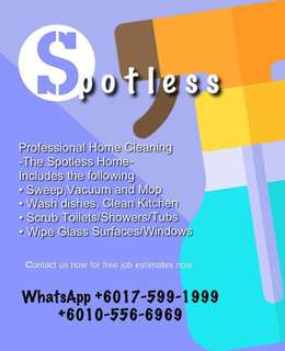 Spotless Home Cleaning