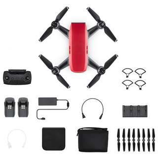 DJI SPARK flymore combo white/red