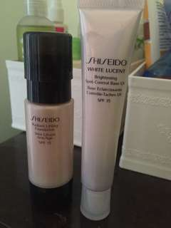 Shiseido Base dan Foundation