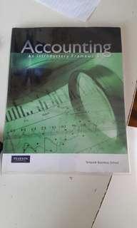 Accounting: An Introductory Framework Pearson: Stanley, Ryan, Falt & Kirkwood