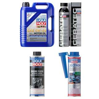 Liqui Moly 5W-40 5w40 Engine Oil Package 1