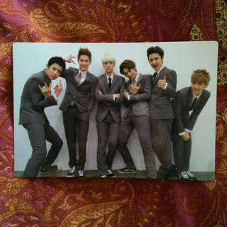 EXO-K • Growl Official Photocard