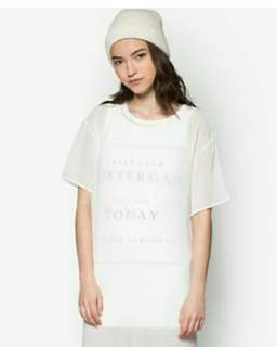 Repriced! Something Borrowed Dual Layer Shift Dress