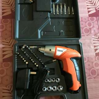 Cordless Electric Drill Screw Driver 45pcs