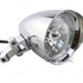 Polished Conical Lamp Front with 12V Bulb