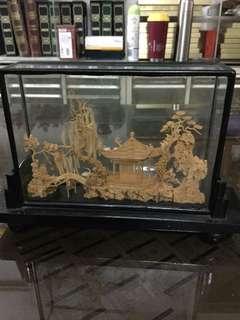 水松畫- 世外桃源