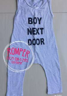 Boy next door romper