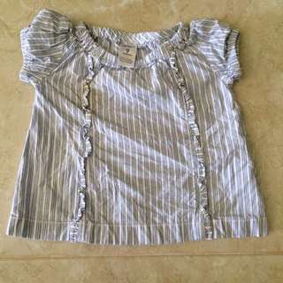 Carters blouse 9mos