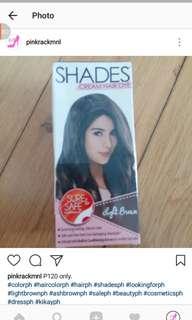 Shades hair colour