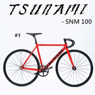 Tsunami SNM100 , Fixed gear - Pro light,High specification, AL alloy Frameset,best choose for all beginner and mid level player. June last promotion