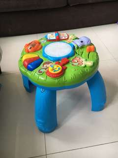 Leapfrog playing table