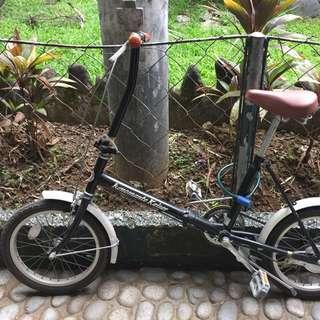 Kenomante Kaiser Black Folding Bike