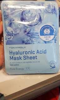 Tonymoly Hyaluronic Acid Mask Sheet Bundle (10 lembar)