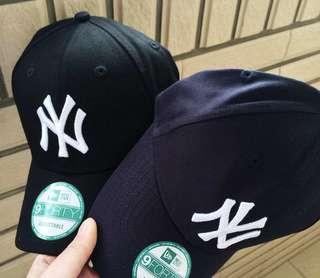 (全新)❣️ New Era NY帽 navy