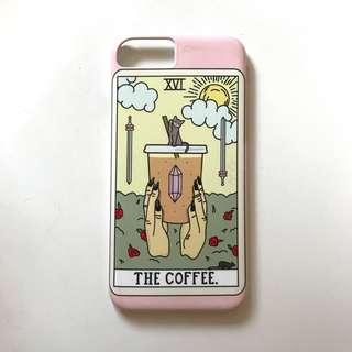 iPhone 7 Society6 Coffee Tarot Case