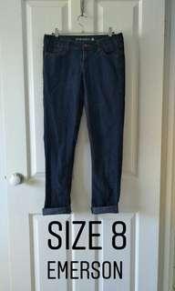 Skinny Dark Denim Jeans