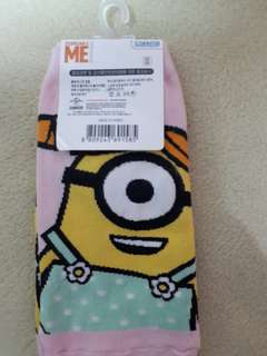 🚚 小小兵襪子,韓國製