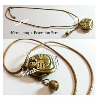 Doraemon Vintage With Bell Necklaces Sellzabo Brown Strap Accessories Ladies Girls Women Female Lady