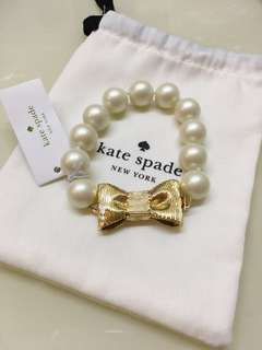 Kate spade all wrapped up pearl bracelet