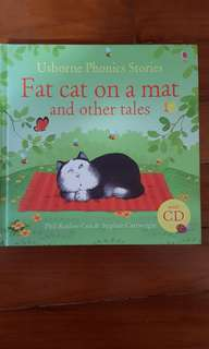 Usborne Phonics Stories Fat cat on a mat and other tales