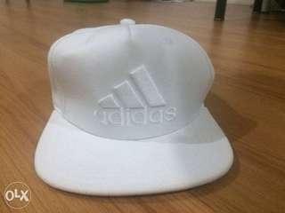 Adidas White Snapback