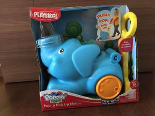 [Brand New in Box] Playskool Pop n Pickup Elefun Elephant Toy