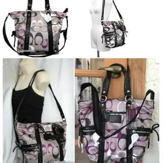 Free shipping Authentic Coach sling bag