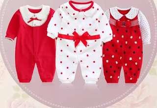 春季新品嬰兒連身衣