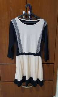 Dress Korea Fit XL tunik