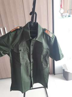 [NEW] UNITY Army Green Shirt