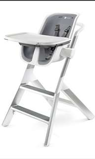 BN 4moms high chair / baby chair - White/Grey