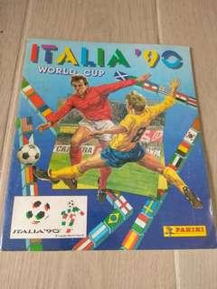 1990世界杯 Panini 集圖冊