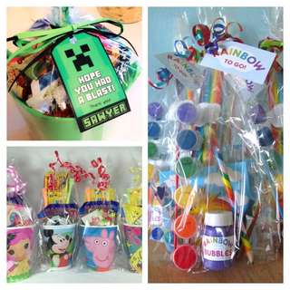 [PARTY GIFTS] Customised Birthday Goody Bags