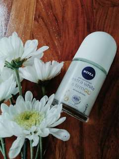 Authentic NIVEA Extra White and Firm Roll-On Deo