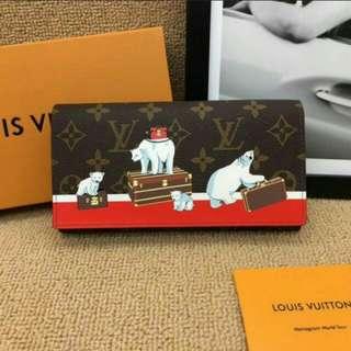 Louis Vuitton Limited Christmas Capsule Polar Bear wallet