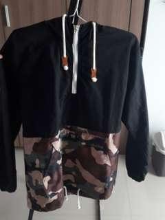 ROWN DVSN Black - Army Hoodie